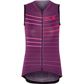 Alé Cycling Solid Ergo Maillot sans manches Femme, purple-gerbera